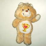 Care Bears 1985 Champ Bear by kenner plush toy